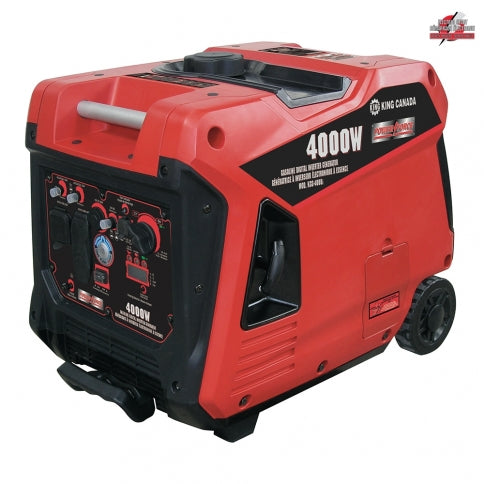 King Canada KCG-4001i Power Force 4000W Gasoline Digital Inverter Generator