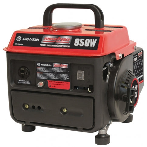 King Canada KCG-951G Power Force 950W Portable Generator