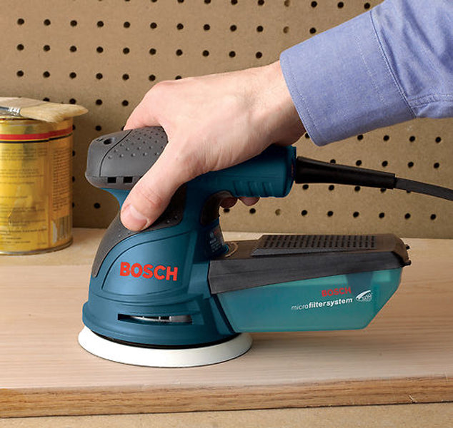 "BOSCH ROS20VSC 5"" V/S RANDOM ORBIT SANDER w/ BAG-Marson Equipment"