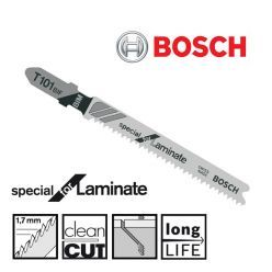"BOSCH T101BIF 3-1/4"" LAMINATE JIGSAW BLADE (5) PACK - CLEAN CUTTING-Marson Equipment"