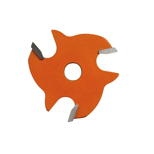 "CMT 822.340.11 3-Wing Slot Cutter with 5/32"" Cutting Height and 8mm Bore-Marson Equipment"
