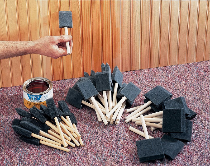 WOODSTOCK D2024 50pc FOAM BRUSH SET-Marson Equipment