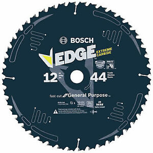 "Bosch DCB1244 12"" X 44T Edge General Purpose Saw Blade"