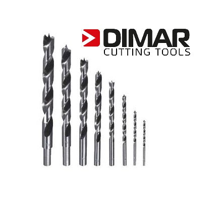 DIMAR 8pc BRAD POINT BIT SET - METRIC or IMPERIAL-Marson Equipment