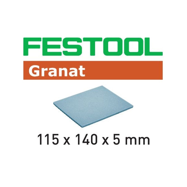 FESTOOL GRANAT 1-SIDED MEDIUM SPONGE 20PK (280- 800 GRIT)-Marson Equipment