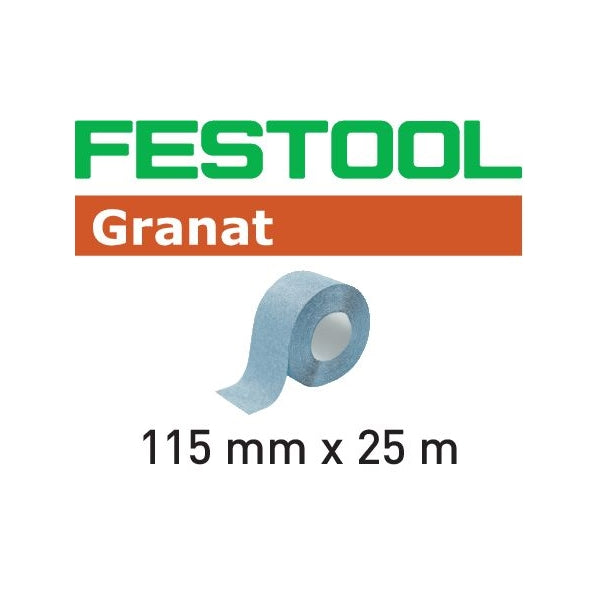 "FESTOOL GRANAT 4-1/2"" x 82' ABRASIVE ROLL (80 - 240 GRIT)-Marson Equipment"