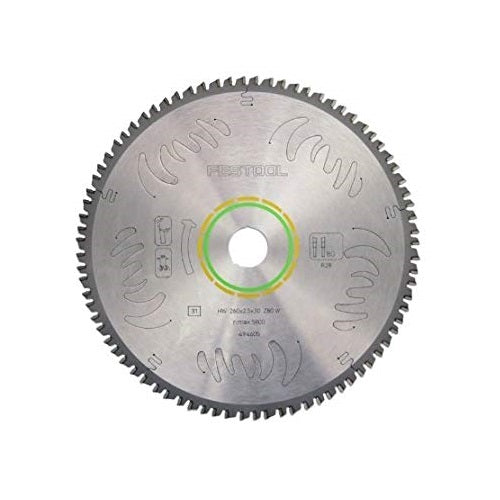 Festool 495387 Cross-Cut 80 tooth Blade for Kapex Miter Saw