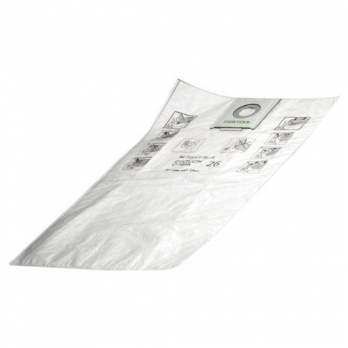 FESTOOL 496186 CT36 SELFCLEAN FILTER BAG - 5PK-Marson Equipment