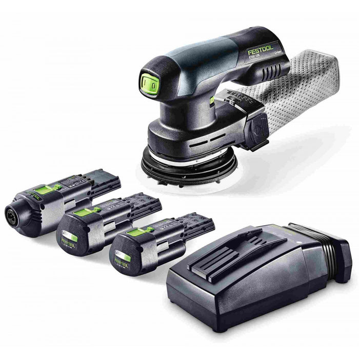 FESTOOL 201531 ETSC 400 18V Li-Ion CORDED/CORDLESS SANDER SET-Marson Equipment