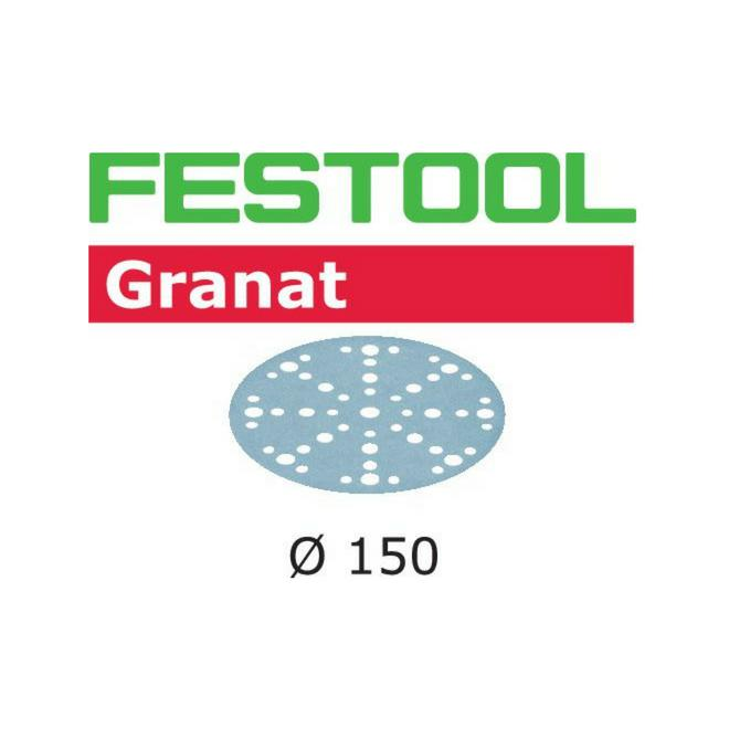 "FESTOOL 6"" (150mm) GRANAT SANDING DISCS w/ MULTI JETSTREAM 2-Marson Equipment"
