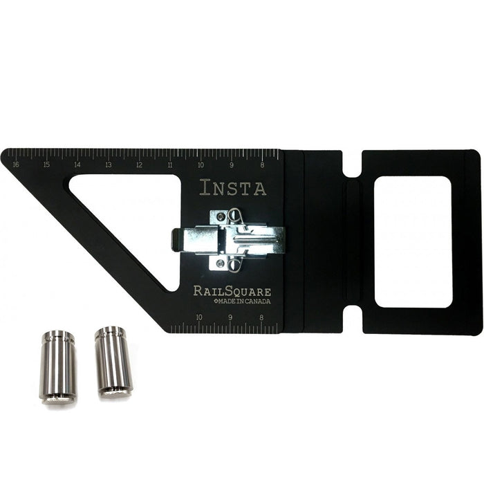 INSTA-RAILSQUARE TRACK SAW SQUARE KIT - FITS FESTOOL, MAKITA & TRITON RAILS-Marson Equipment
