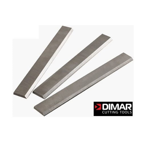 "DIMAR HE83418 8"" x 3/4"" x 1/8"" JOINTER KNIVES (SET OF 3)-Marson Equipment"
