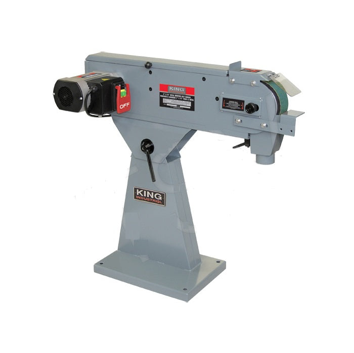 "King KC-379MS 3"" x 79"" Metal Belt Sander"