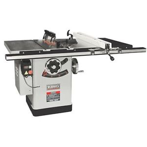 "KING KC-26FXT 10"" EXTREME CABINET SAW (30"" RIP)-Marson Equipment"