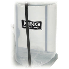 KING KDCB-3 PLASTIC BOTTOM BAG 3-PACK (GENERAL 10-005/010/030, KING 2405C)-Marson Equipment