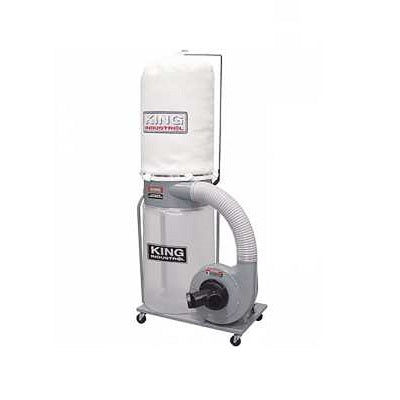 KING KC-3105C 1.5HP DUST COLLECTOR (110V/220V)-Marson Equipment
