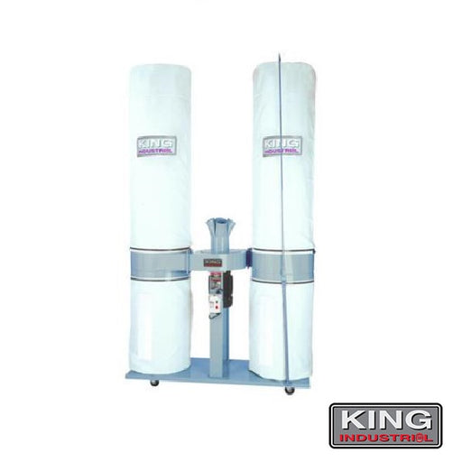 KING KC-5043FX-2 5HP 3980CFM DUST COLLECTOR-Marson Equipment