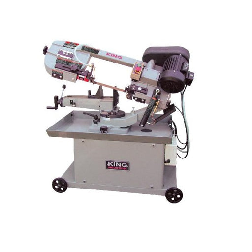 "KING KC-712DS 7"" x 12"" DUAL-SWIVEL METAL BANDSAW-Marson Equipment"