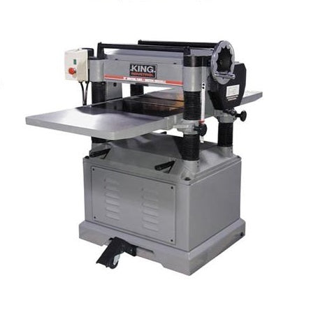 "KING KC-520C 20"" PLANER w/ 4-KNIFE CUTTERHEAD - 3HP-Marson Equipment"