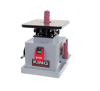 KING KC-OVS-TL BENCHTOP SPINDLE SANDER-Marson Equipment