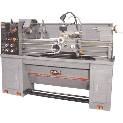 "KING KC-1440ML-6 14"" x 40"" GEARHEAD METAL LATHE-Marson Equipment"