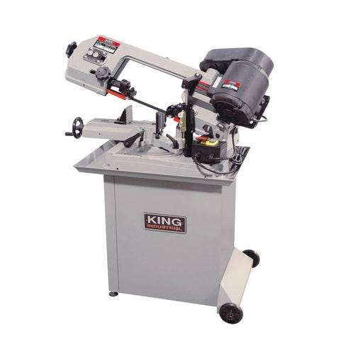 "KING KC-129DS 5"" x 6"" DUAL-SWIVEL METAL CUTTING BANDSAW-Marson Equipment"