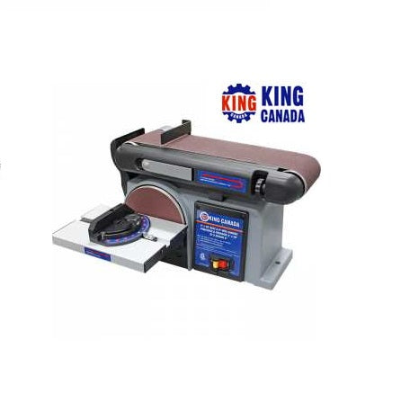 KING KC-705L-6 BENCHTOP BELT/DISC SANDER-Marson Equipment