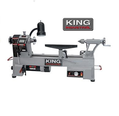 "KING KWL-1218VS 12"" x 18"" WOOD LATHE-Marson Equipment"
