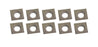KING KW-093 4-SIDE CARBIDE INSERT SET - 10PC-Marson Equipment