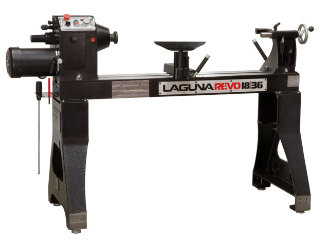 LAGUNA REVO 18/36 WOOD LATHE - 110V, 1.5HP-Marson Equipment
