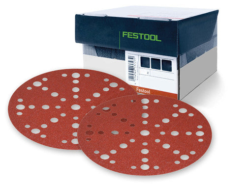 "FESTOOL 6"" (150mm) RUBIN-2 DISCS w/ MULTI JETSTREAM 2-Marson Equipment"