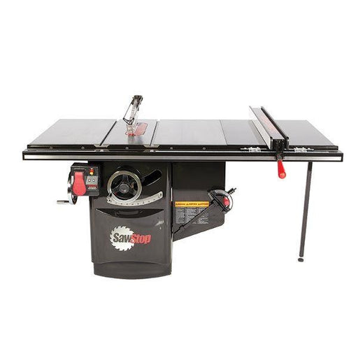 "SAWSTOP ICS 10"" 3HP/1PH INDUSTRIAL SAW w/ 36"" FENCE PKG-Marson Equipment"
