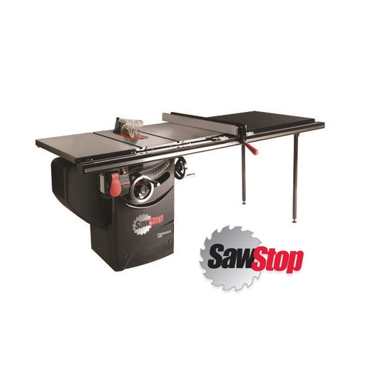 "SAWSTOP PCS31230-TGP252 10"" 3HP PROFESSIONAL SAW w/ 52"" FENCE PKG-Marson Equipment"