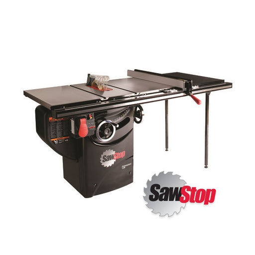 "SAWSTOP PCS31230-TGP236 10"" 3HP PROFESSIONAL SAW w/ 36"" FENCE PKG-Marson Equipment"