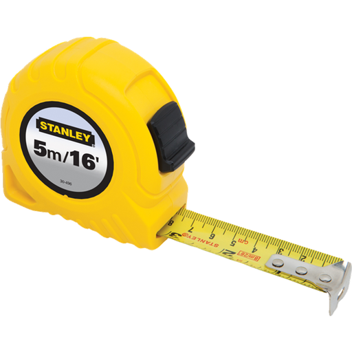 STANLEY 30-496 5M/16FT TAPE MEASURE-Marson Equipment
