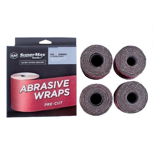 "SuperMax 60-1080 Abrasive Rolls for 10"" Drum Sander - 80 Grit"