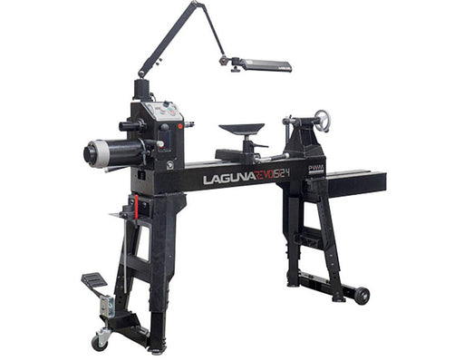 Laguna 15/24 Revo Steel bed Wood Lathe - 110V