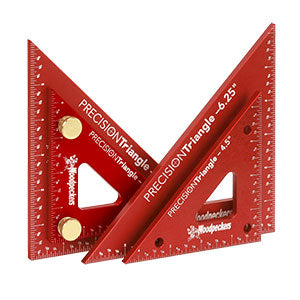 WOODPECKERS PTR46SET 2PC PRECISION TRIANGLE SET-Marson Equipment