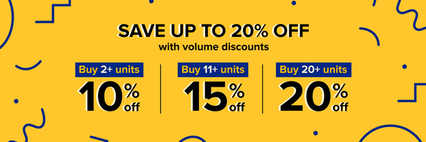 Buy in bulk and save with Volume Discounts on Wish Wholesale.