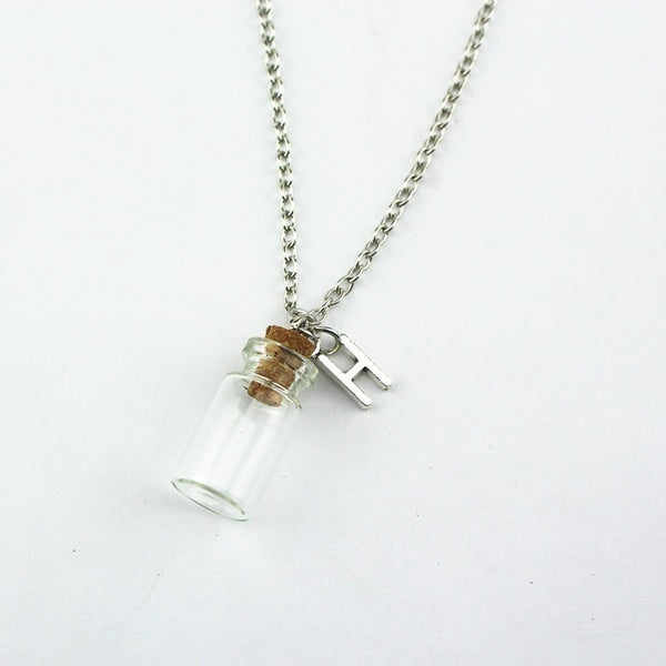 Memory Bottle - Ashes Bottle Necklace