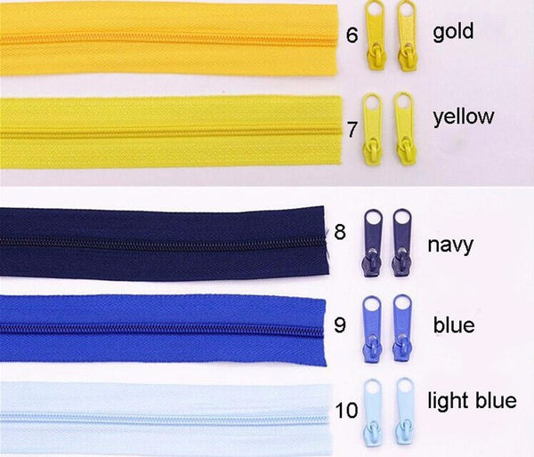 25Meters lot Nylon Coil Zippers 20 Colors For Selection 3 Width Lace Zippers For Sewing DIY Craft Tailor Tools 2 Red