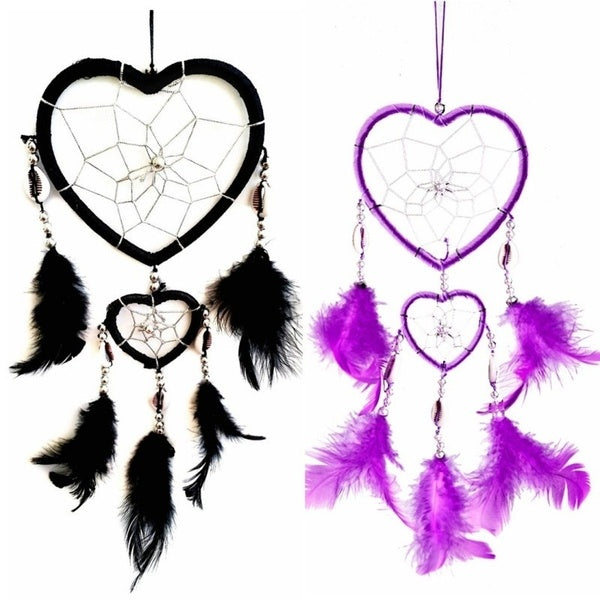 Handmade Heart Shape Dream Catcher