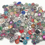 Load image into Gallery viewer, Fit Ginger Snaps Jewelry Buttons Interchangeable 18Mm Snaps Charm(Pack Of 4/20/50/100)