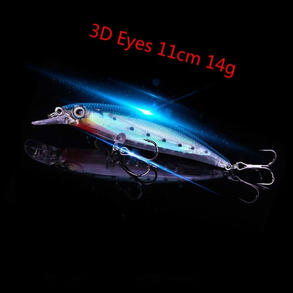 Luminous Floating Minnow Fishing Lure
