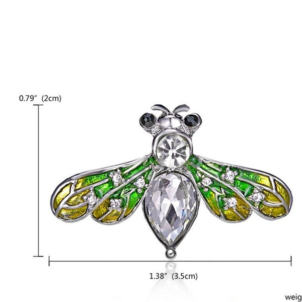 Insect Pearl Rhinestone Pins 19