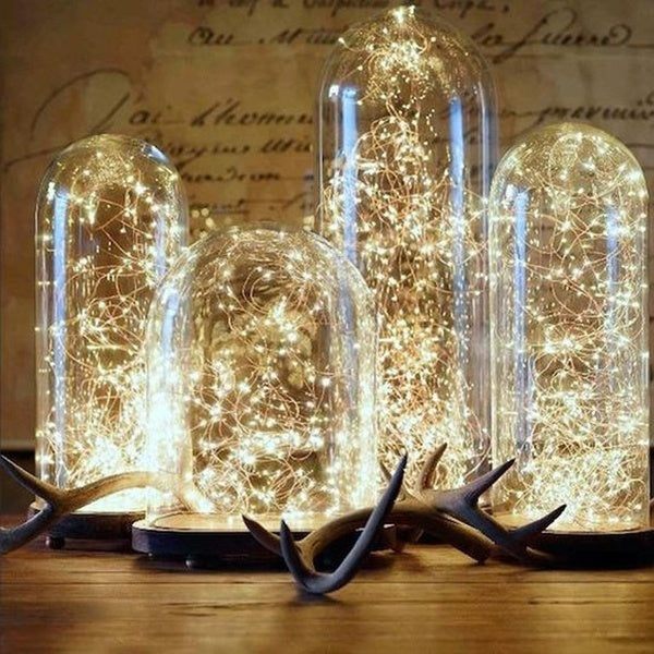 3AA Battery LED String Lights for Xmas Garland Party Wedding Decoration Christmas Tree Flasher Fairy Lights 2/3/4/5/10M