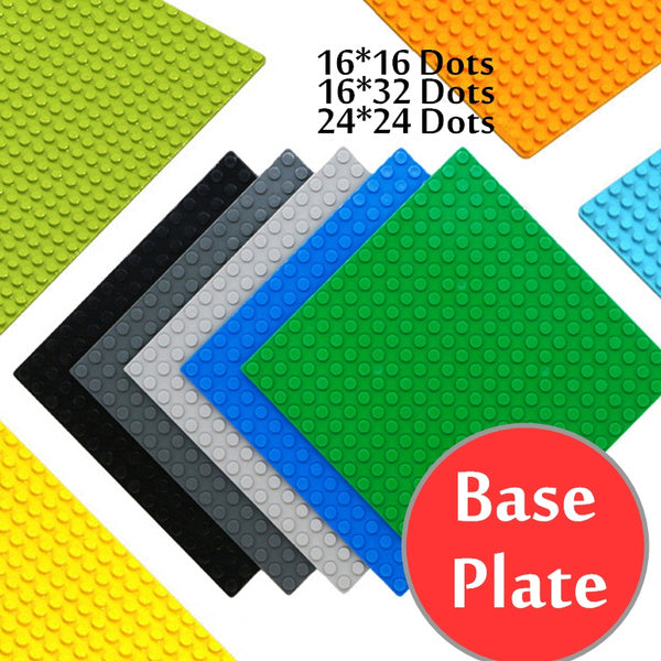 16 16 16 32 24 24 DIY Toys Base Plates Construction Toys Educational Toys For Children Kids Gifts 16x16 Dots darkgray