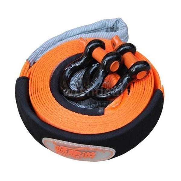 500cm X 5cm 5 Tons Auto Car Towing Rope with without Hooks