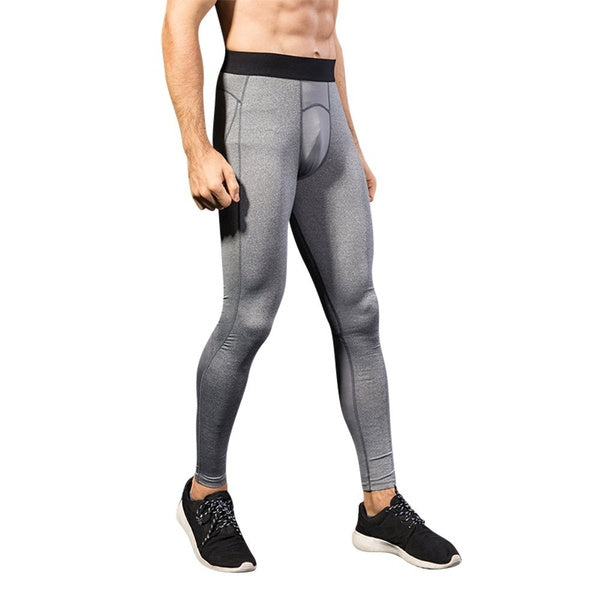 Mens Thermal Compression Exercise Leggings