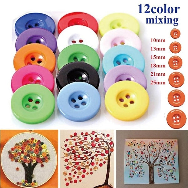 Resin Buttons for DIY Crafts